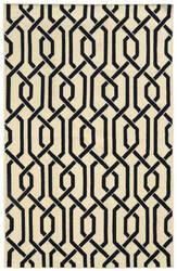 PANTONE UNIVERSE Matrix 4260q Ivory/ Black Area Rug