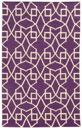 PANTONE UNIVERSE Matrix 4267j Purple/ Ivory Area Rug