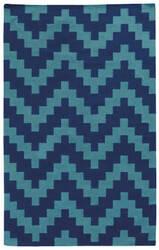PANTONE UNIVERSE Matrix 4714c Blue/ Blue Area Rug