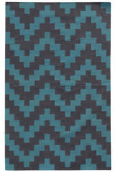 PANTONE UNIVERSE Matrix 4714d Blue/ Purple Area Rug