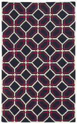PANTONE UNIVERSE Matrix 4722a Purple/ Ivory Area Rug
