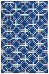 PANTONE UNIVERSE Matrix 4722i Blue/ Ivory Area Rug