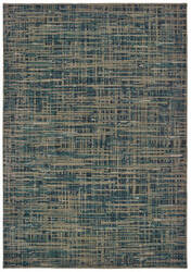 Oriental Weavers Montage 5503d Blue - Grey Area Rug