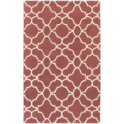 Pantone Universe Optic 41109 Rust Area Rug