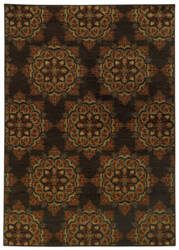 Oriental Weavers Parker 5495c Brown / Rust Area Rug