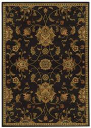 Oriental Weavers Parker 5835b Black / Beige Area Rug