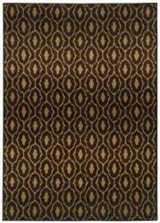 Oriental Weavers Parker 5845b Black / Beige Area Rug