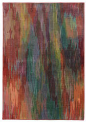 PANTONE UNIVERSE Prismatic 52768 Red/ Orange Area Rug