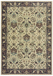 Oriental Weavers Raleigh 8026e Ivory - Navy Area Rug