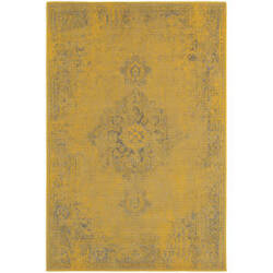 Oriental Weavers Revival 6330h Yellow Area Rug
