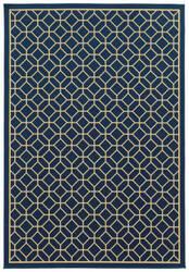 Oriental Weavers Riviera 4771g Navy Area Rug
