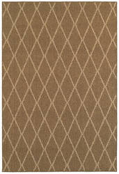 Oriental Weavers Santa Rosa 090n6 Brown Area Rug
