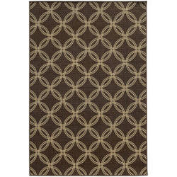 Tommy Bahama Seaside 3360d Brown Area Rug