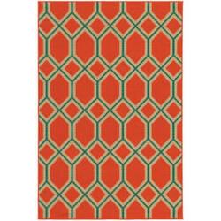 Tommy Bahama Seaside 6660c Orange Area Rug