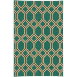 Tommy Bahama Seaside 6660l Teal Area Rug