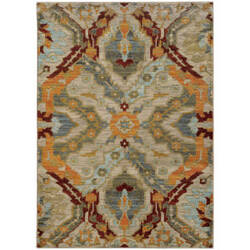 Oriental Weavers Sedona 6357a Beige Area Rug