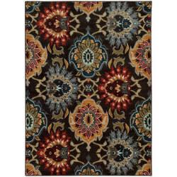 Oriental Weavers Sedona 6369d Charcoal Area Rug