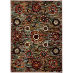 Oriental Weavers Sedona 6408k Multi Area Rug