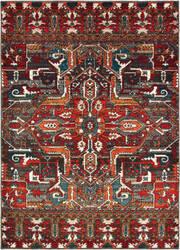 Oriental Weavers Sedona 9575a Red - Orange Area Rug