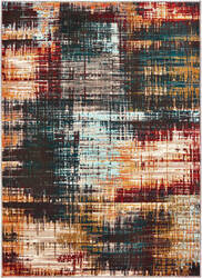 Oriental Weavers Sedona 9584a Blue - Gold Area Rug