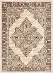 Oriental Weavers Sedona 9588d Ivory - Gold Area Rug