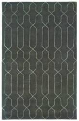 Oriental Weavers Silhouette 48106 Graphite Gray Area Rug