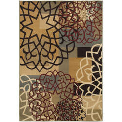 Oriental Weavers Stratton 6021b Multi Area Rug