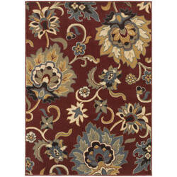 Oriental Weavers Stratton 6034c Red Area Rug