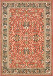 Oriental Weavers Toscana 9537c Orange - Blue Area Rug