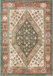Oriental Weavers Toscana 9545d Orange - Blue Area Rug