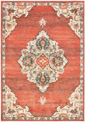 Oriental Weavers Toscana 9568b Orange - Grey Area Rug