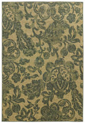 Tommy Bahama Voyage 8120g Dark Green/Tan Area Rug
