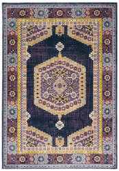 Oriental Weavers Xanadu 001b6 Purple - Gold Area Rug