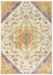 Oriental Weavers Xanadu 073w6 Beige - Orange Area Rug