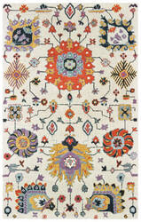 Oriental Weavers Zahra 75502 Ivory - Orange Area Rug