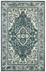 Oriental Weavers Zahra 75506 Grey - Blue Area Rug