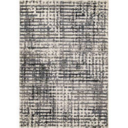 Palmetto Living Adagio 8250 Griddle Muted Blue Area Rug