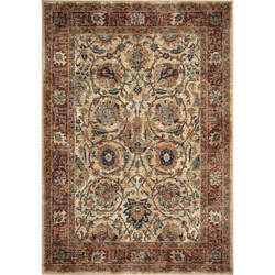 Palmetto Living Alexandria Persian Varse White Area Rug