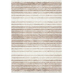 Palmetto Living Cotton Tail JA14 Ombre Stripe Taupe Area Rug