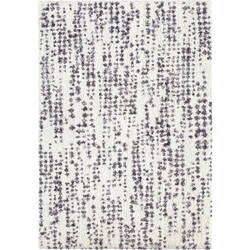 Palmetto Living Cotton Tail Textured Dots Soft White Area Rug