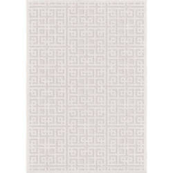 Palmetto Living SoCal Living 9108 Intersected Geo Natural Area Rug