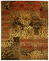 Private Label Oak 148217 Brown Area Rug
