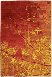 Private Label Oak Red - Orange 4 x 6 Rug