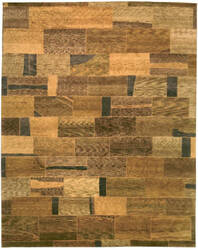 Private Label Oak 148262 Brown Area Rug