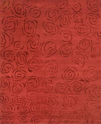 Private Label Oak 148354 Red Area Rug