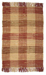 Ragtime Booker Plaid 64480 Red Area Rug