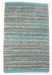 Ragtime Kochi 180326 Aqua Area Rug