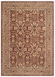 Ralph Lauren Power Loomed Lrl1310b Oxblood Area Rug