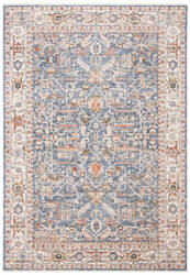 Ralph Lauren Power Loomed Lrl1340m Navy - Beige Area Rug