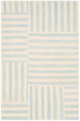 Ralph Lauren Canyon Stripe Patch Rlr2867a Sky Area Rug